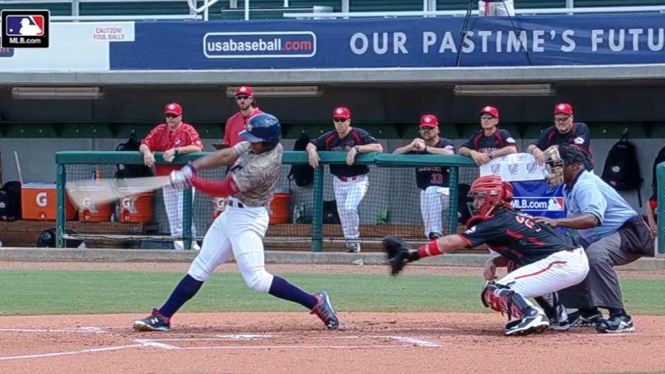Ray's solo home run