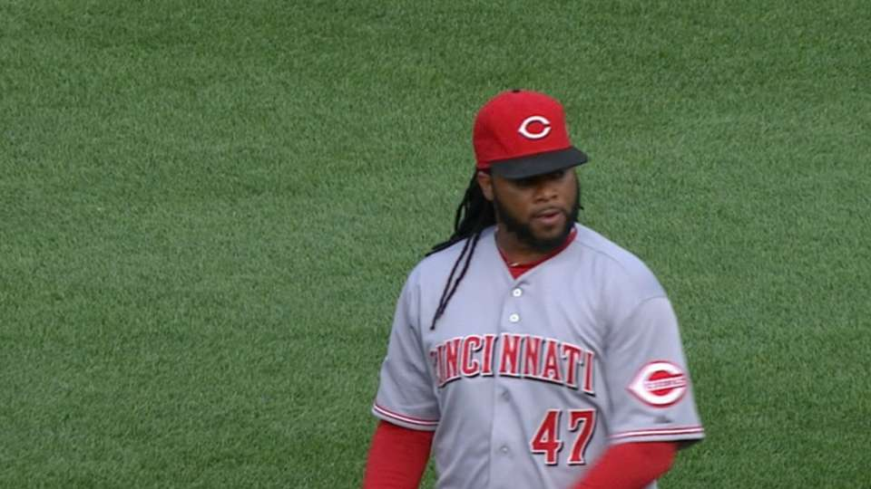 Cueto's dominant two-hit shutout