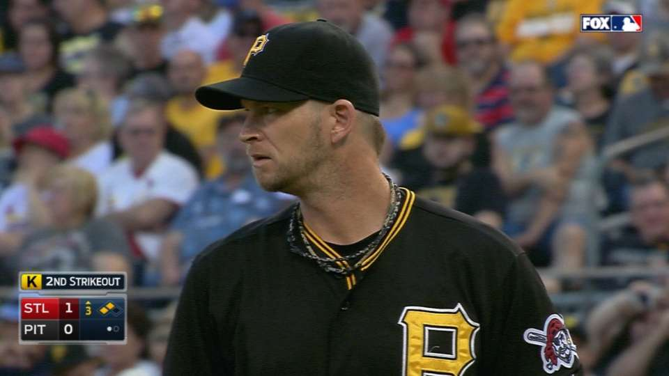 Burnett strikes out six
