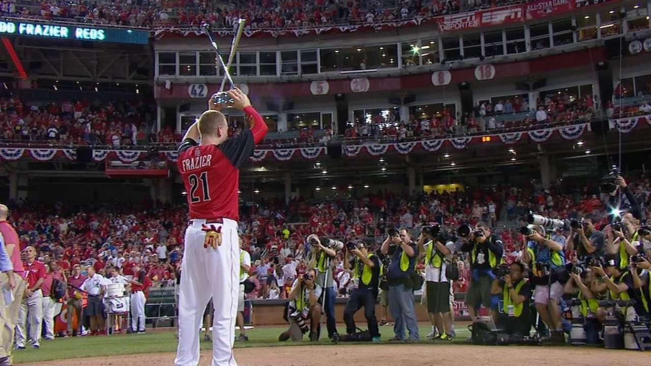 Home Run Derby Remembering Todd Frazier S Dramatic 2015 Win
