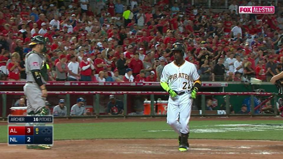 Cutch's long solo homer