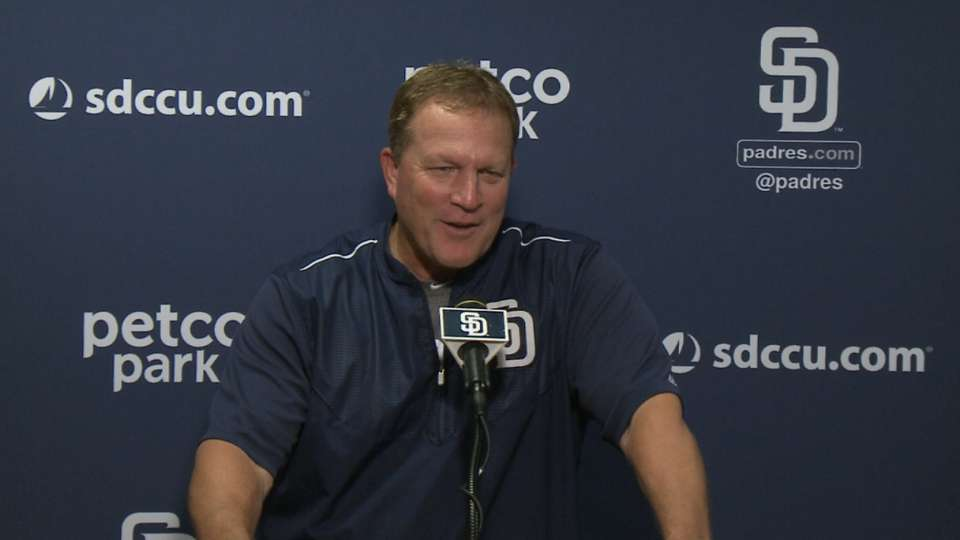 Murphy discusses the Padres' win