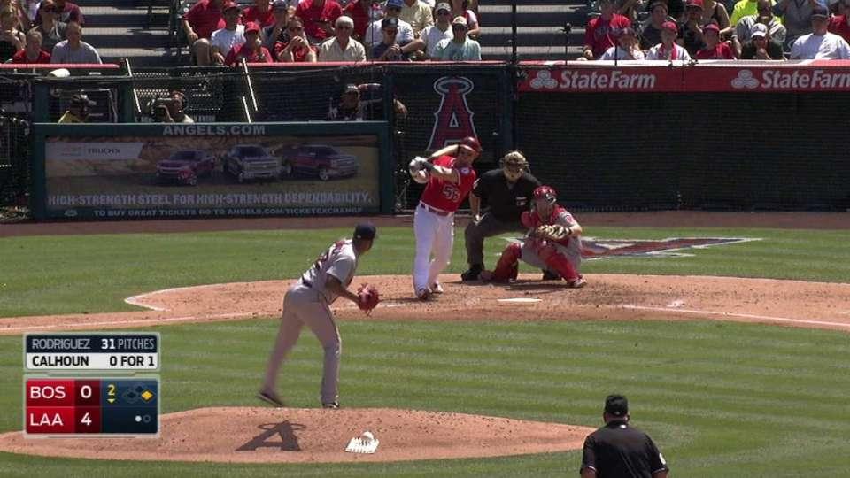 Calhoun's two-run blast