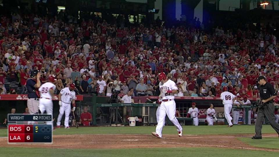 Trout's 28th homer