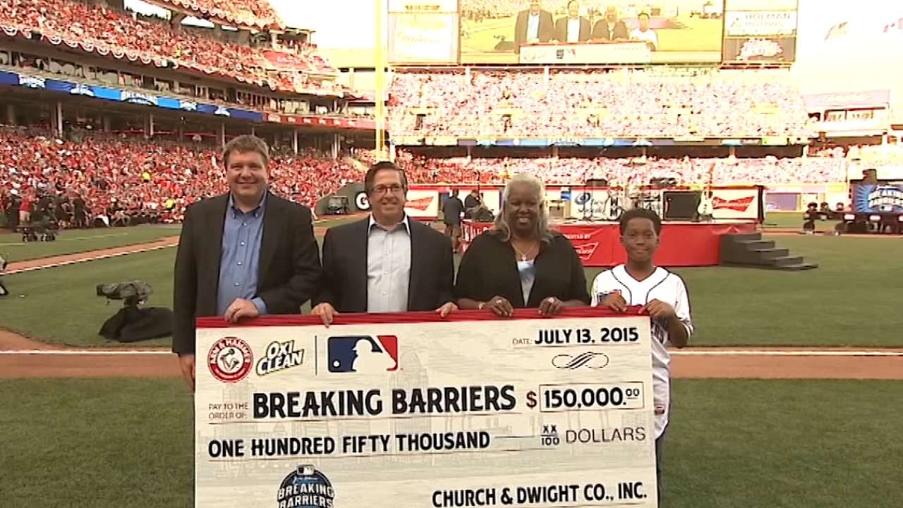 Malcolm venable wins breaking barriers contest mlb com