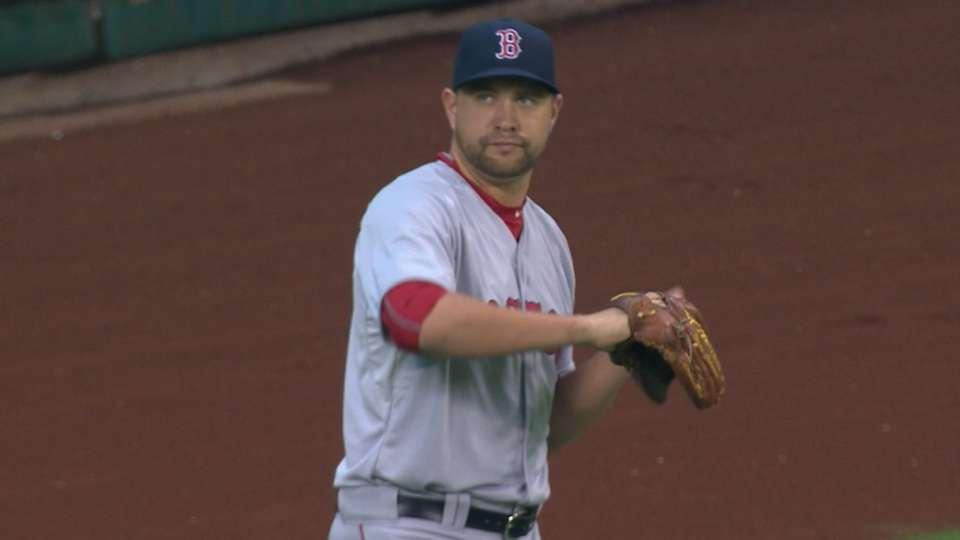 Johnson's MLB debut