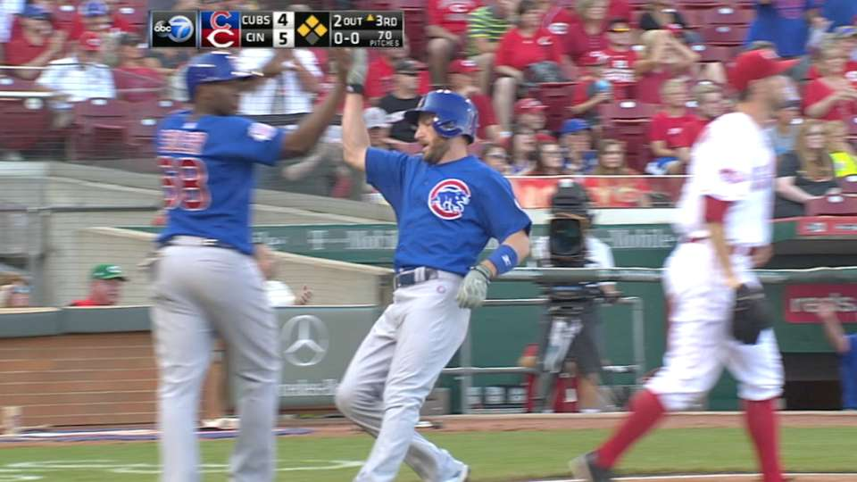 Cubs respond with five-run 3rd
