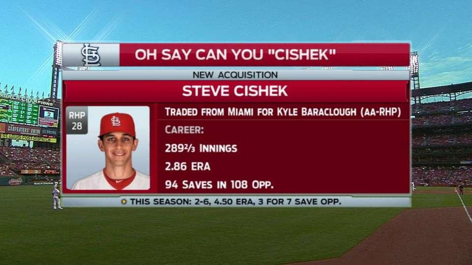 Broadcast on acquiring Cishek