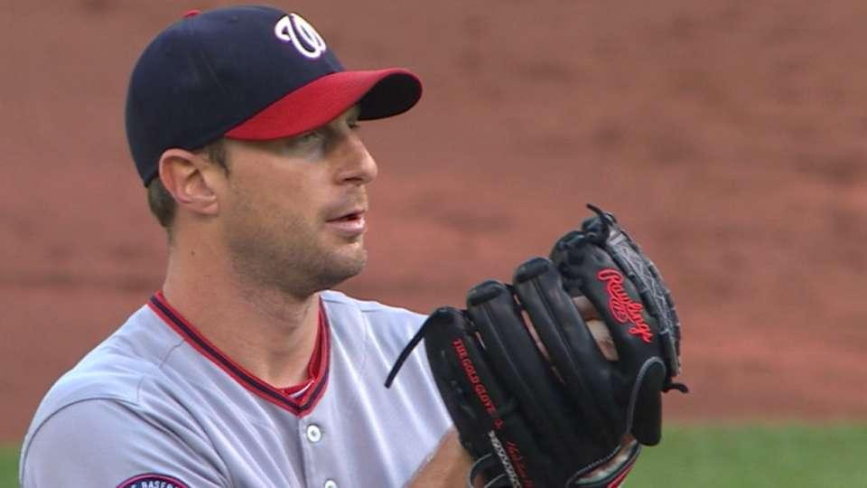 Scherzer's eight strikeouts
