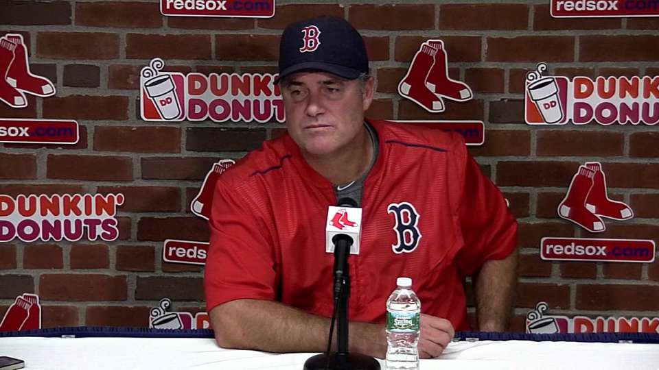 Farrell on win over the Tigers