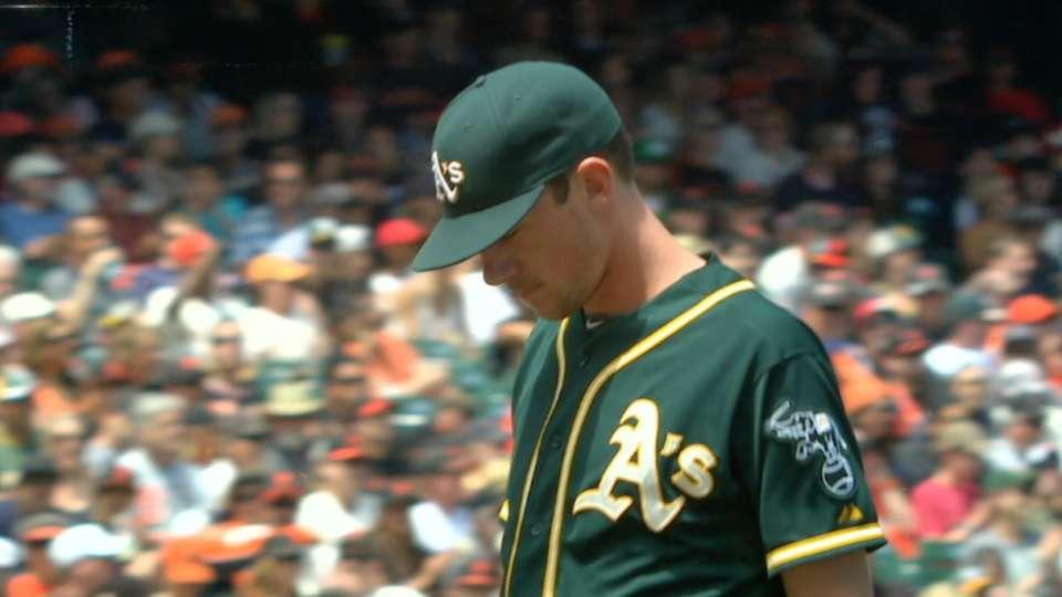 Bassitt holds Giants to two runs
