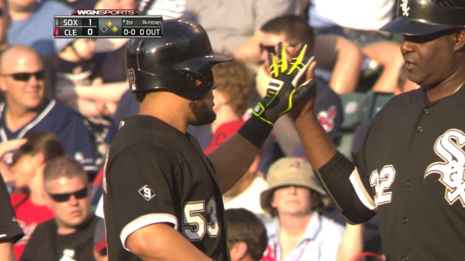 White Sox score five in the 1st