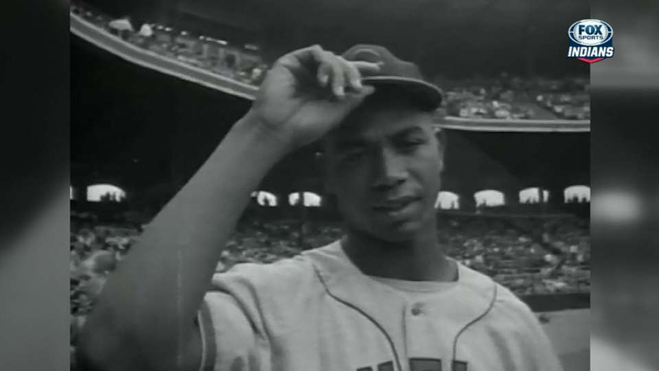 Indians honor Larry Doby
