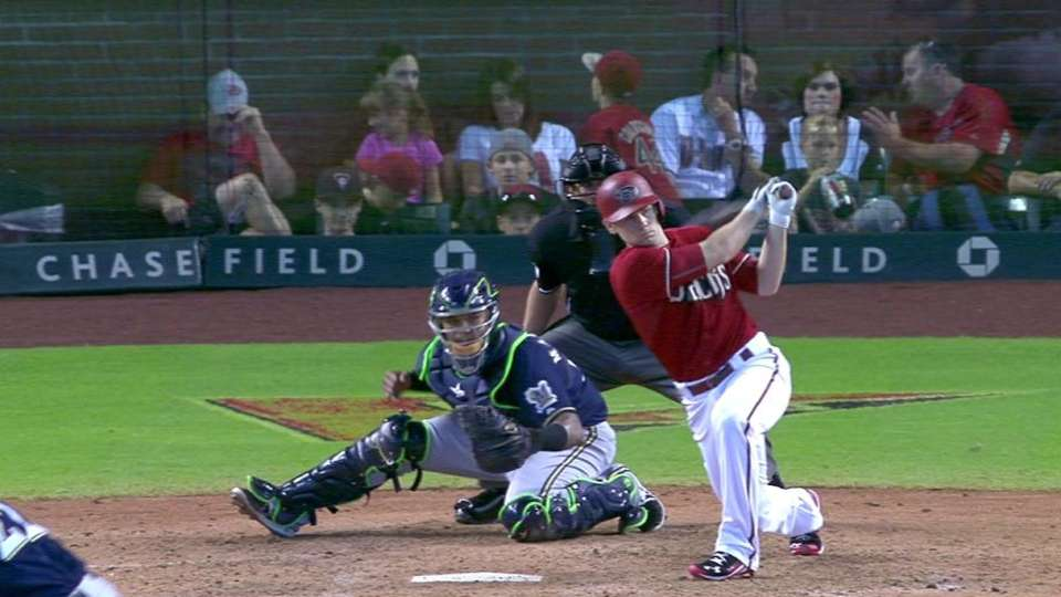 Owings' two-run double