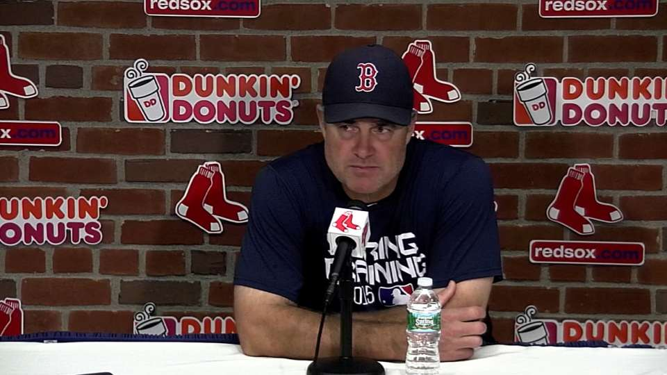 Farrell on Ortiz's huge game
