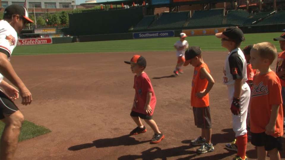Orioles' Chevy Youth Clinic