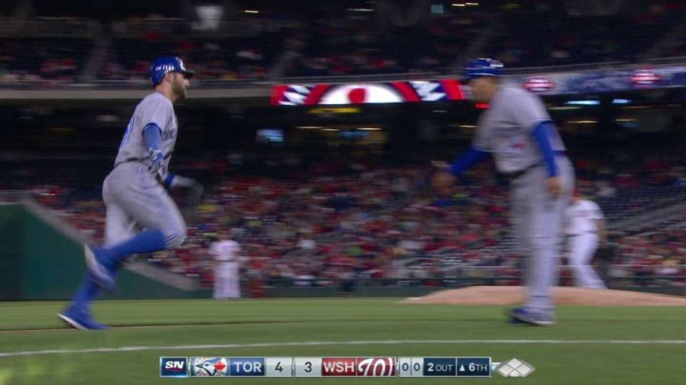 Pillar's second homer of game