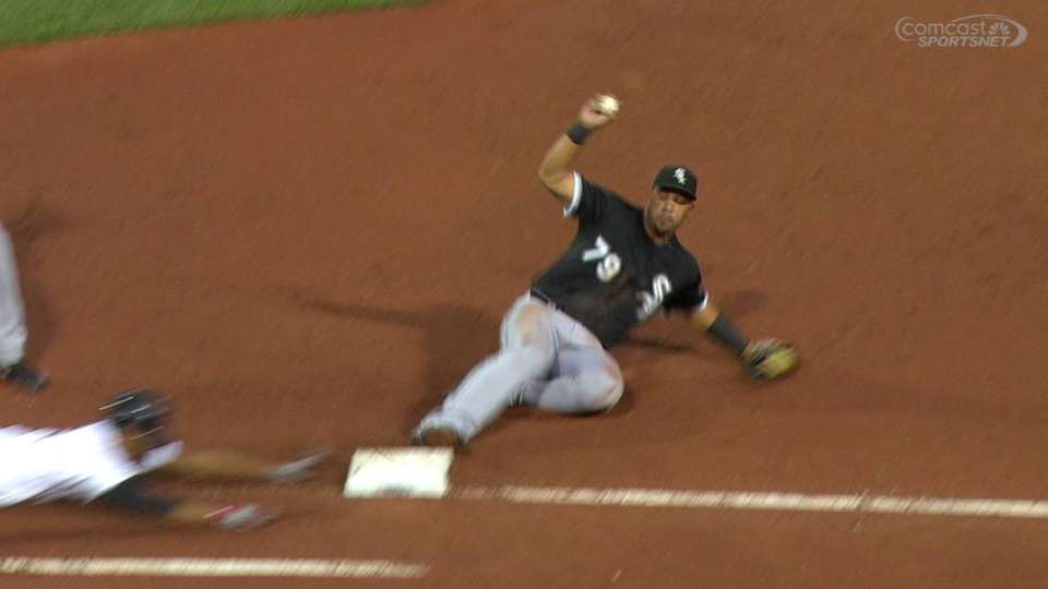 Abreu's heads-up play