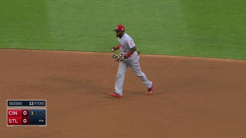 Phillips' nice catch