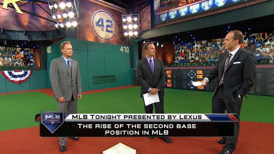 MLB Tonight on second base