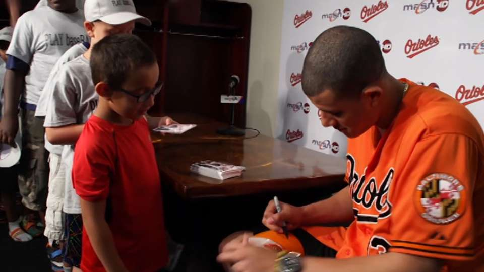 Orioles Community PLAY clinic