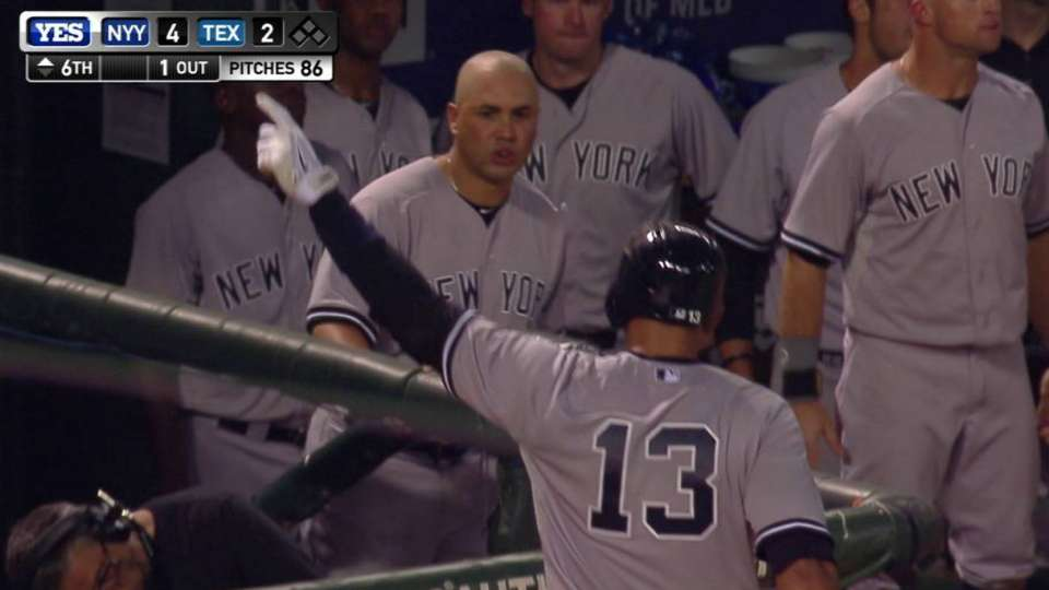 A-Rod homers on 40th birthday