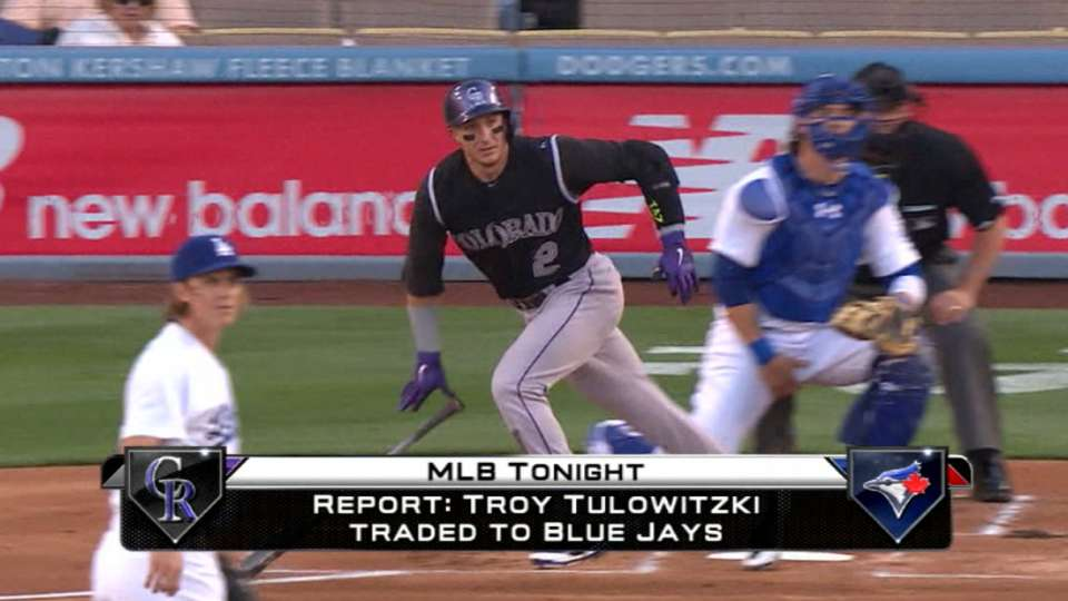 Tulowitzki traded to Toronto