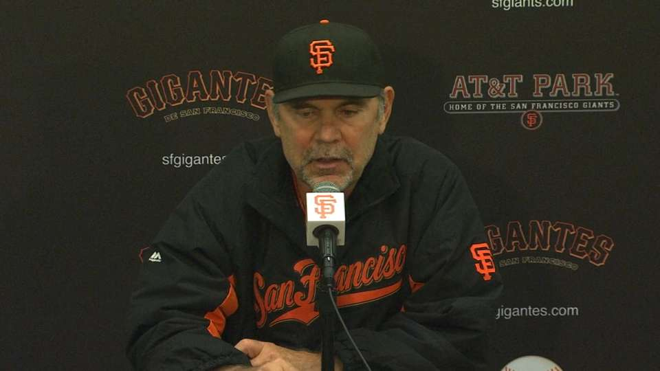 Bochy on strong win