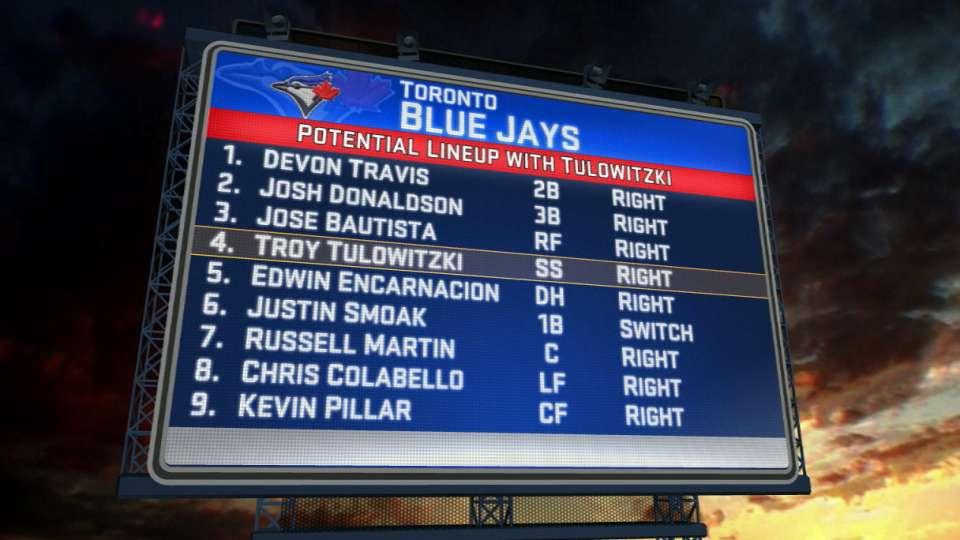 MLB Tonight on Blue Jays lineup