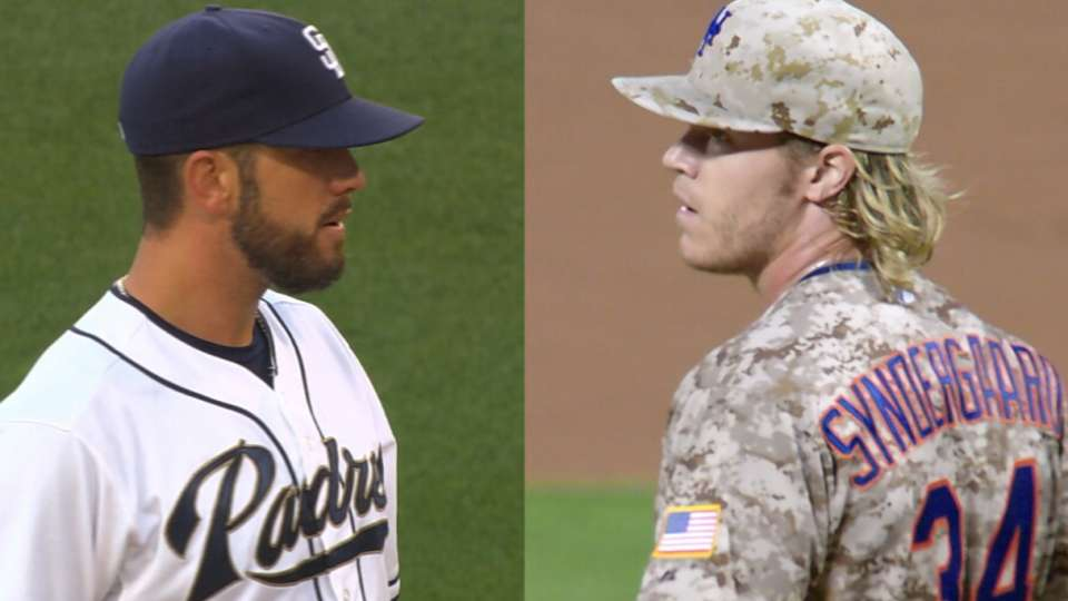 Shields, Syndergaard face off