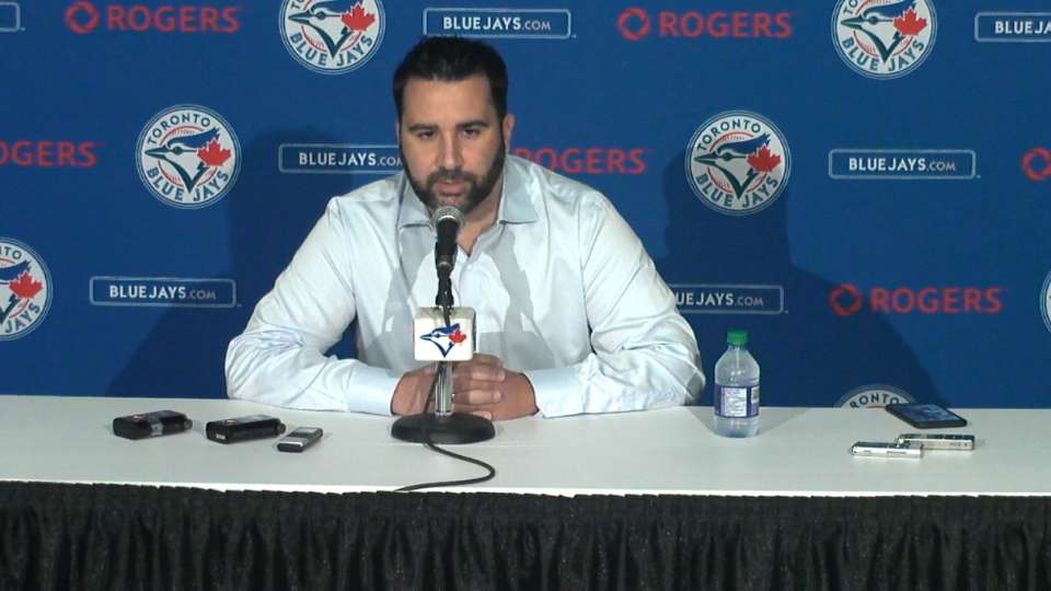 Anthopoulos on Blue Jays' trade