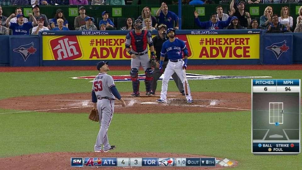 Bautista's go-ahead home run