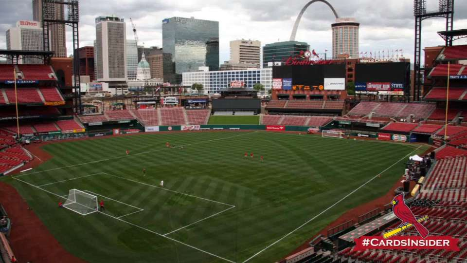 U.S. Soccer Team coming to Busch