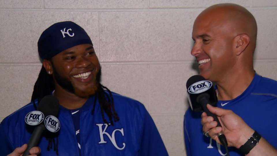 Cueto on joining the Royals