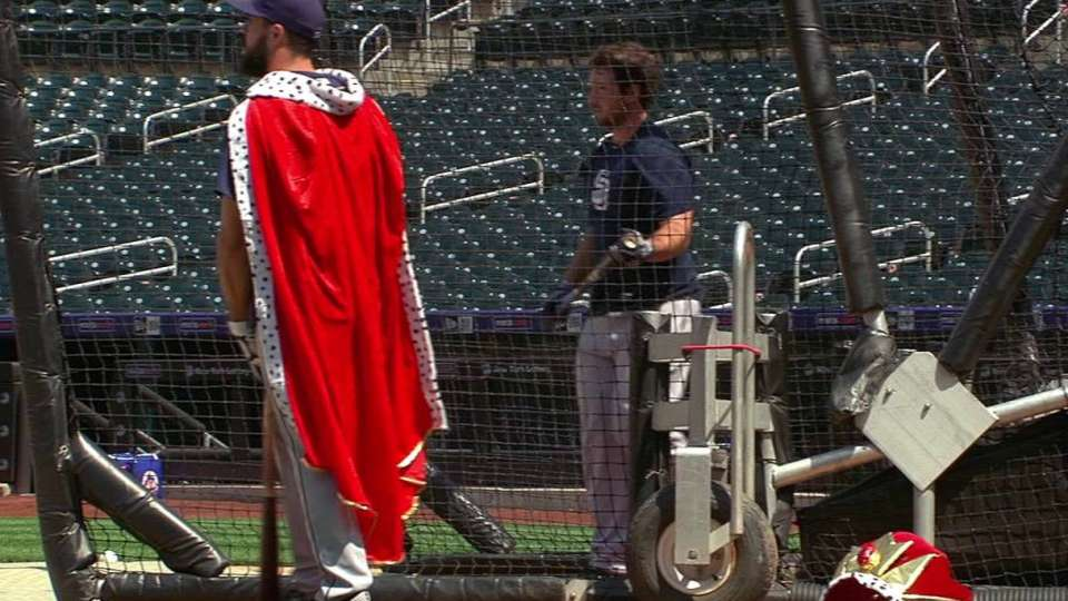 Hedges takes BP wearing a cape