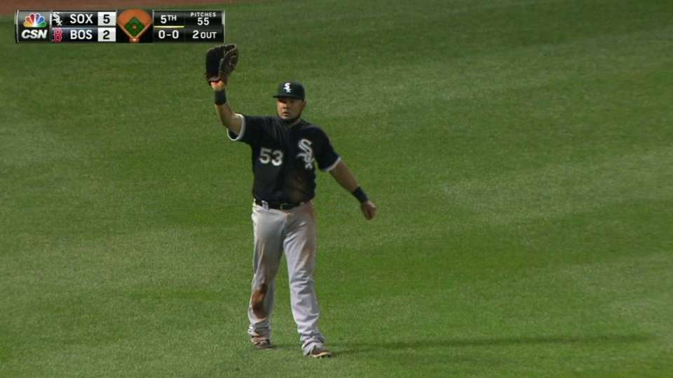 Melky's great diving catch