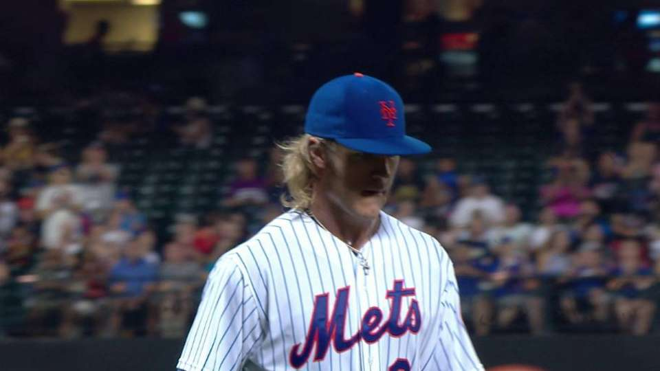 Syndergaard induces double play