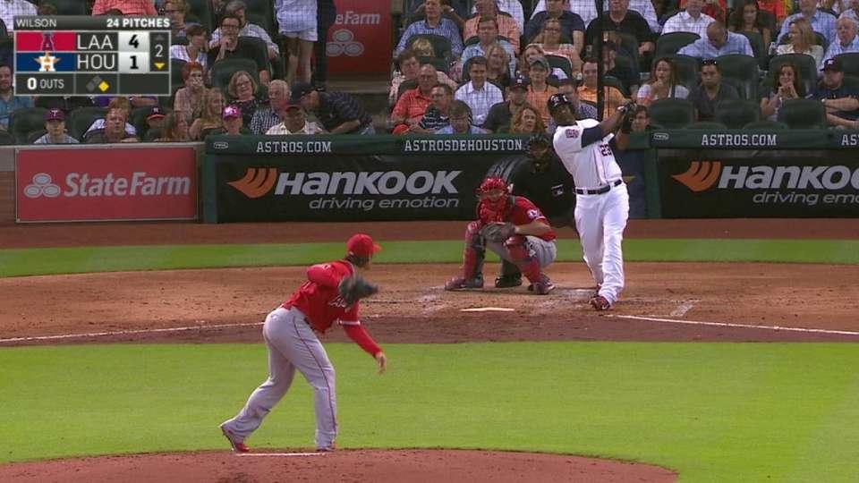 Carter's two-run home run