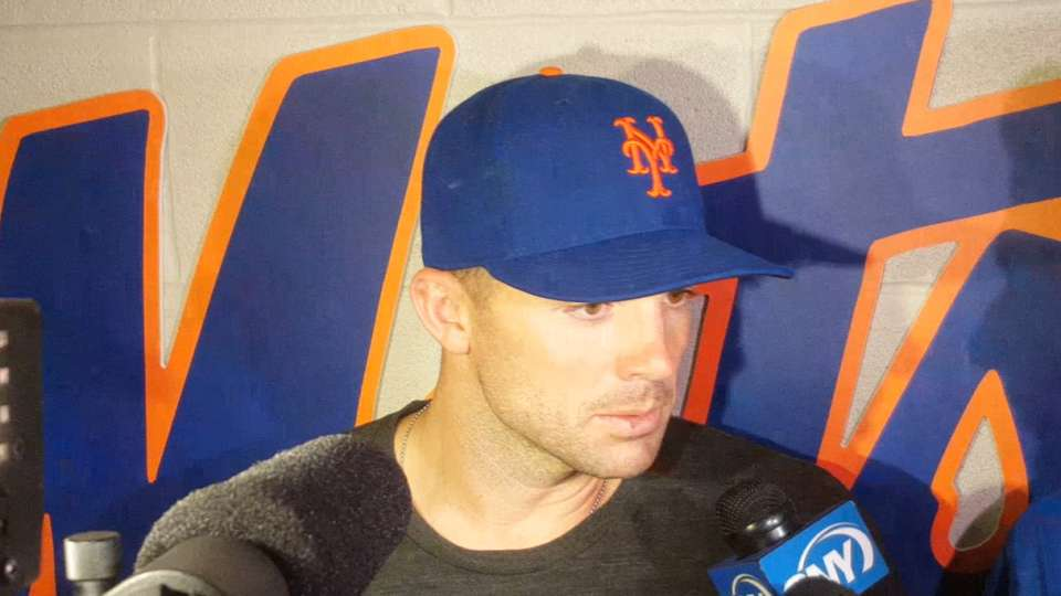 Wright works out at Citi Field