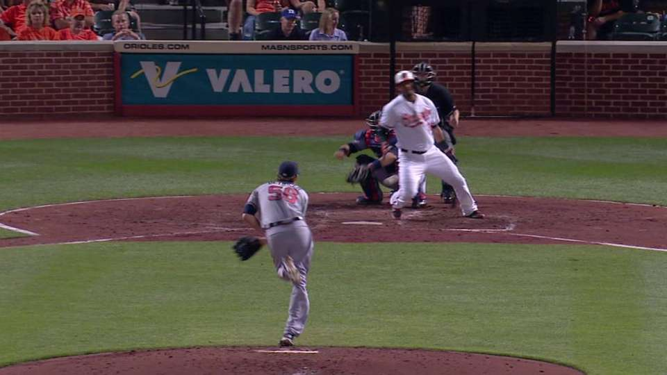 Detwiler hit with comebacker