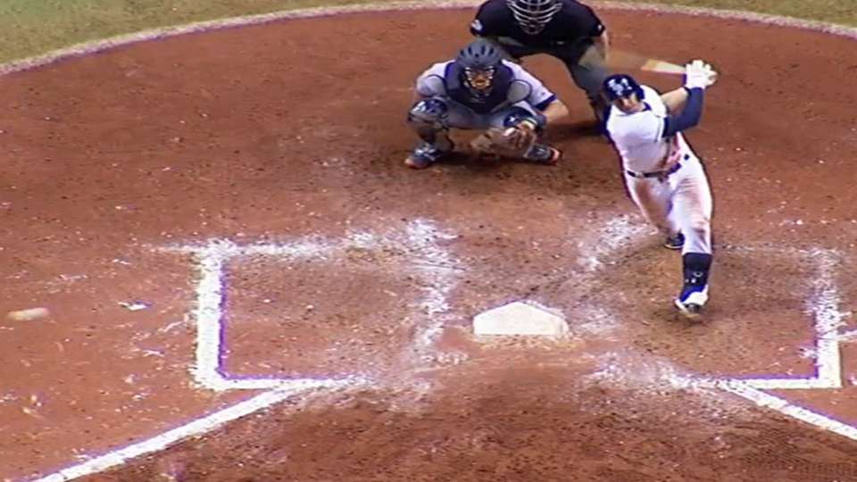 Longo homers to add to lead