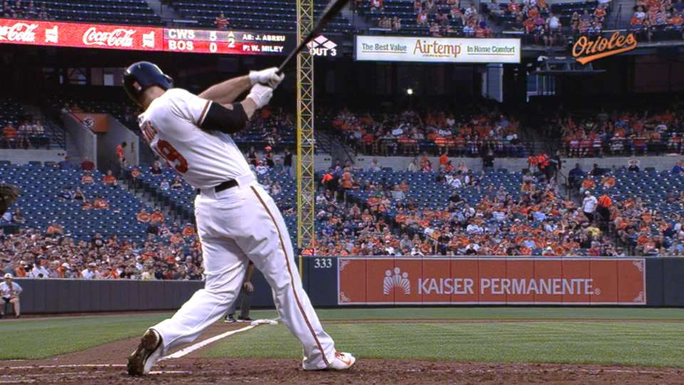 Davis launches two homers