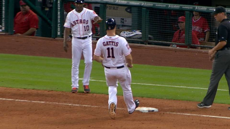 Gattis' RBI triple