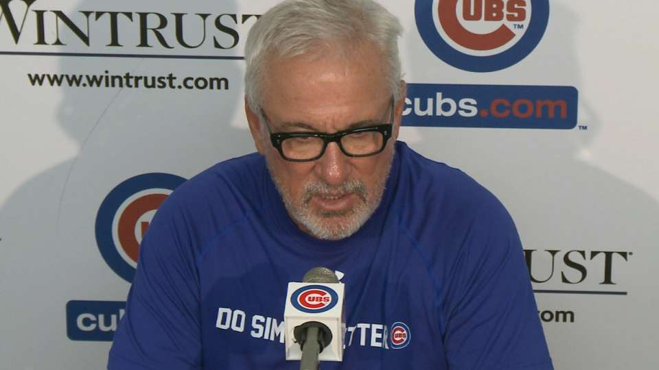 Maddon on loss to the Rockies