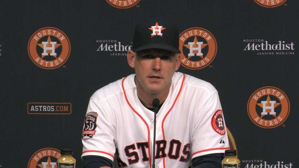 Hinch on Astros' 10-5 win