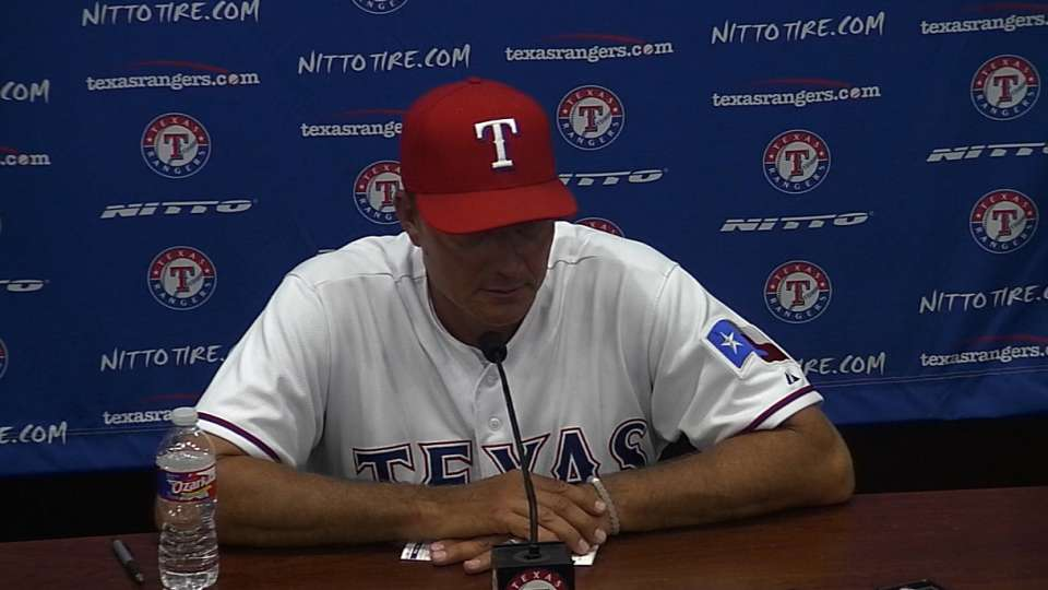 Banister on loss to the Yankees