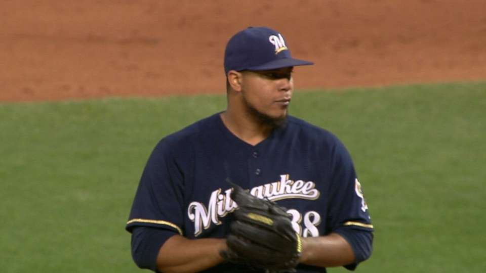 Peralta solid in return from DL