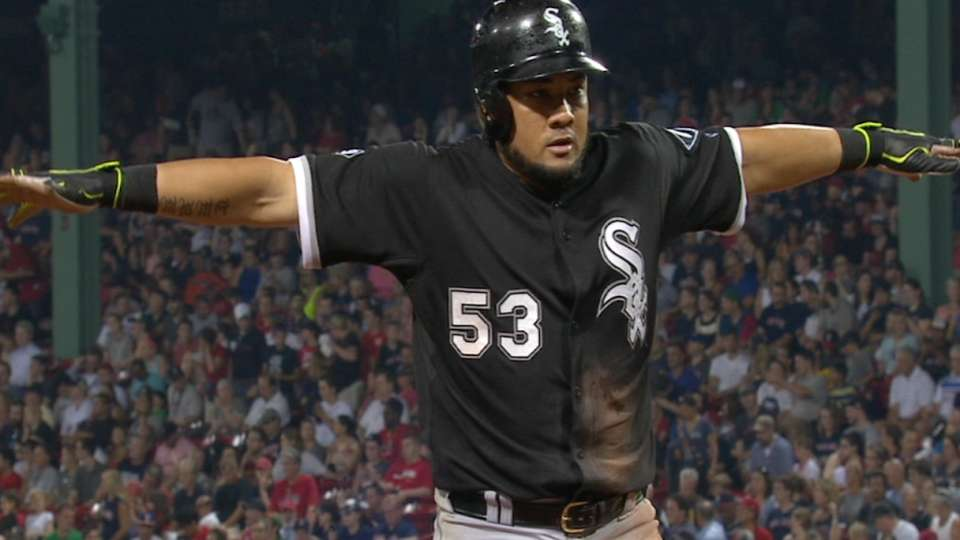 Melky's four-hit game