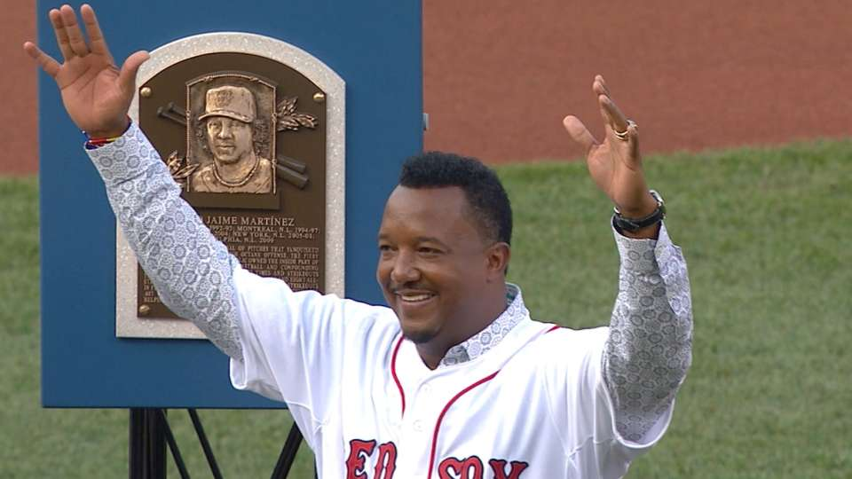 Red Sox tribute to Pedro