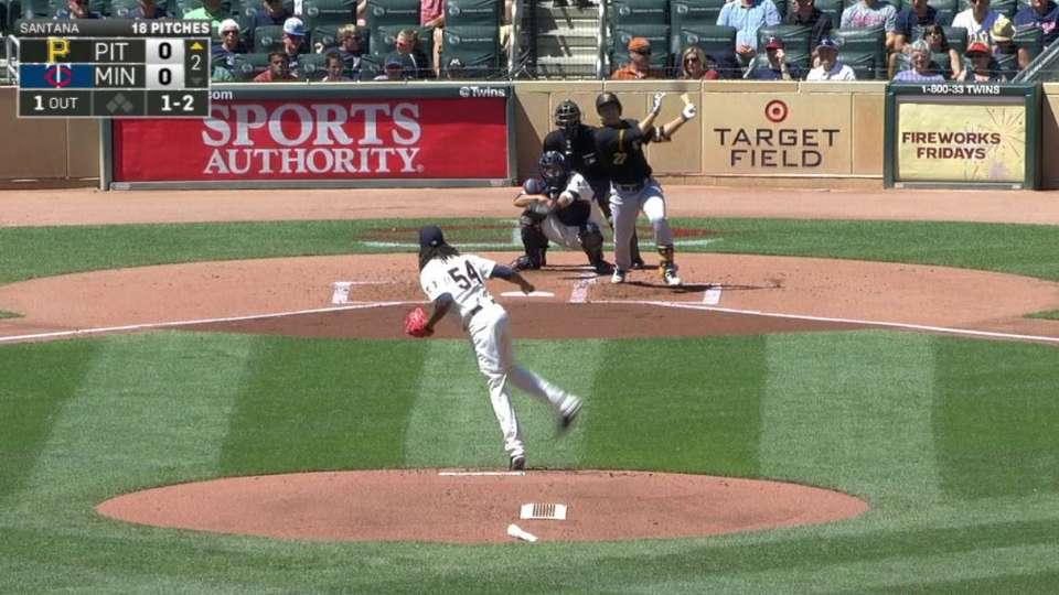Kang's solo home run